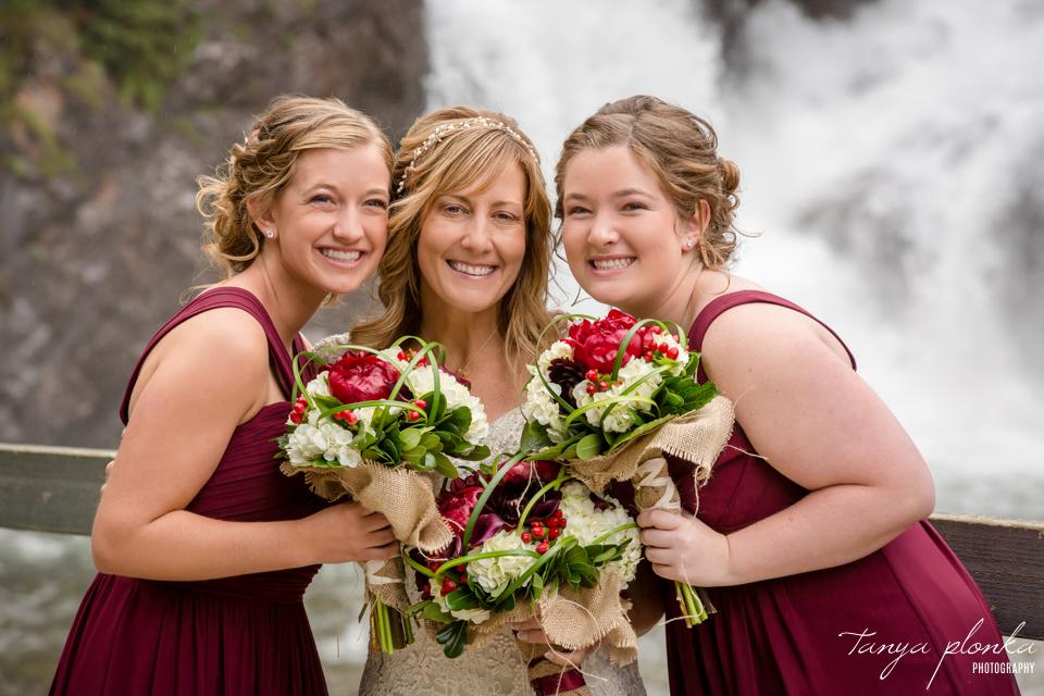 Jennifer and Scott, Cameron Falls wedding photos