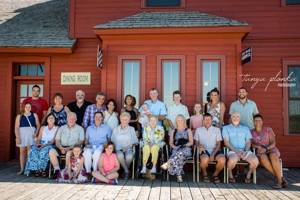 Galt Historic Railway Park Family Reunion