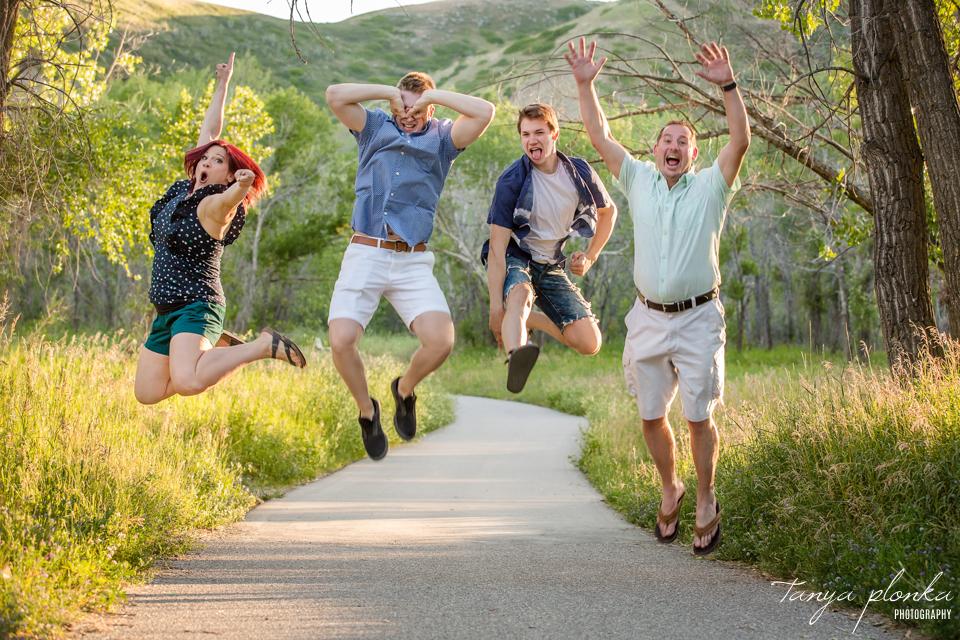 Lethbridge fun family photo session
