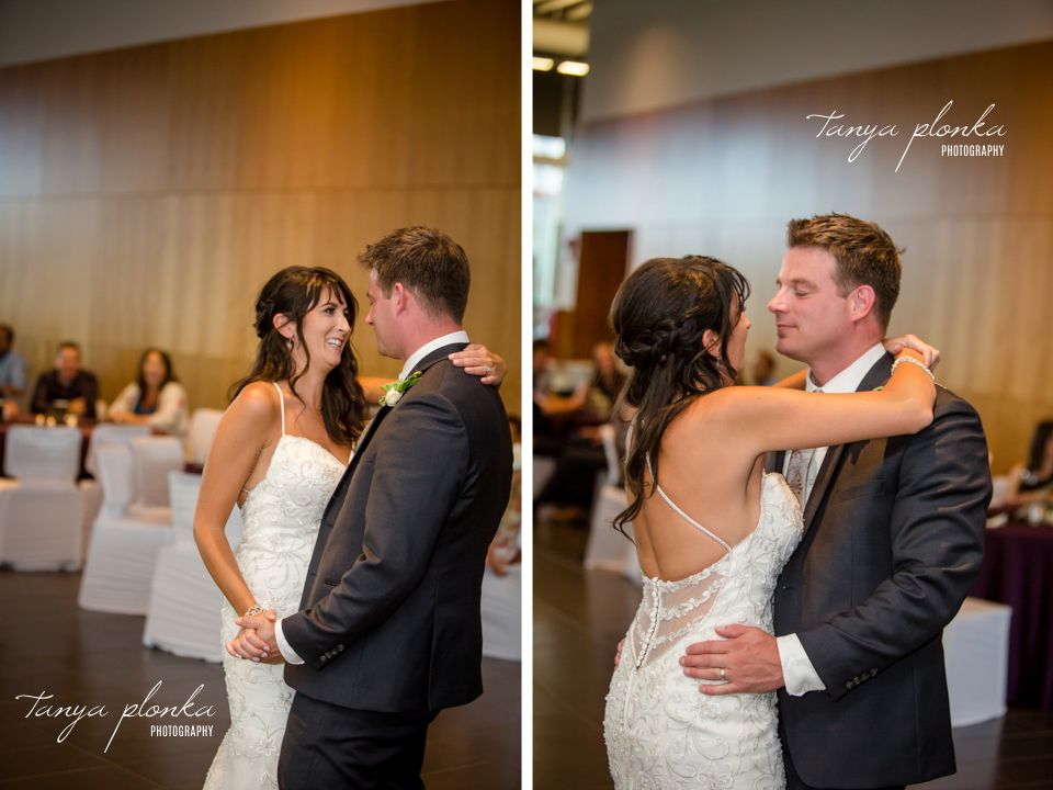Christine & Joe, Galt Museum summer wedding ceremony and reception
