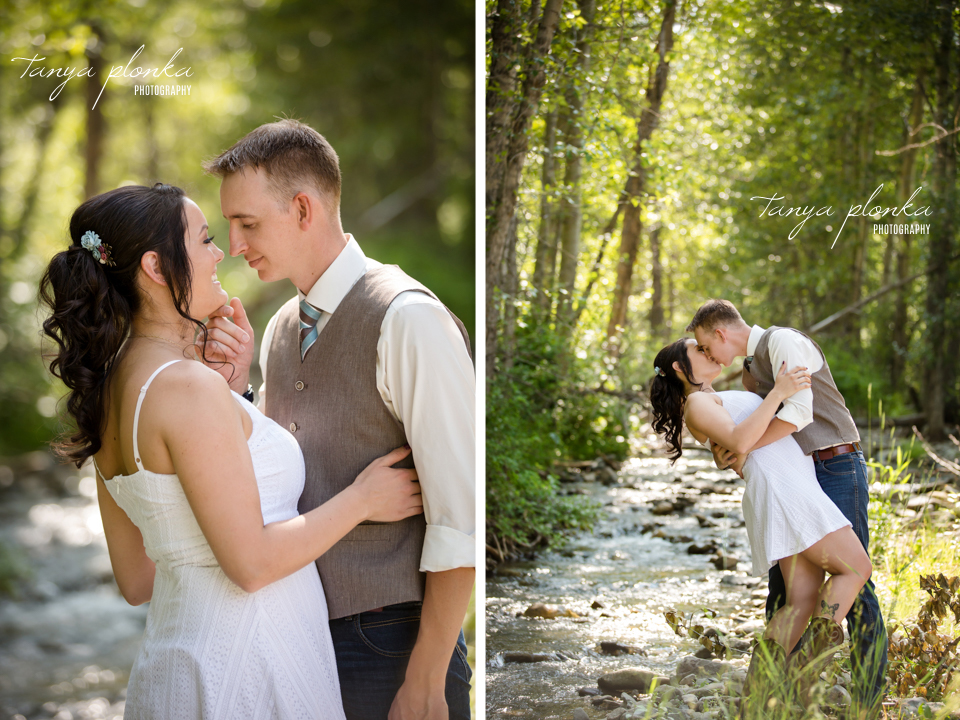 Kelsie & Scott, Crowsnest Pass wedding photography
