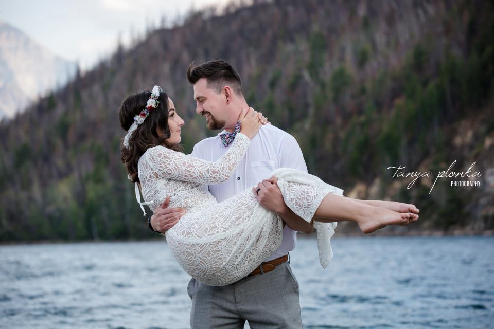 Waterton Lakes wedding photography