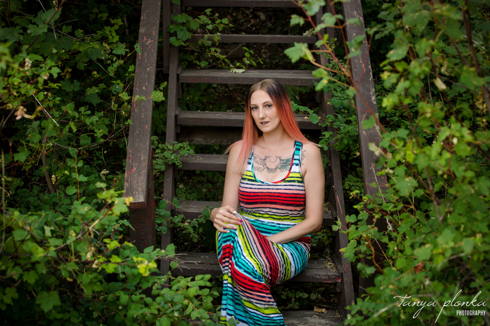colorful Waterton summer portraits
