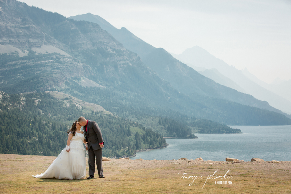 Waterton wedding photography