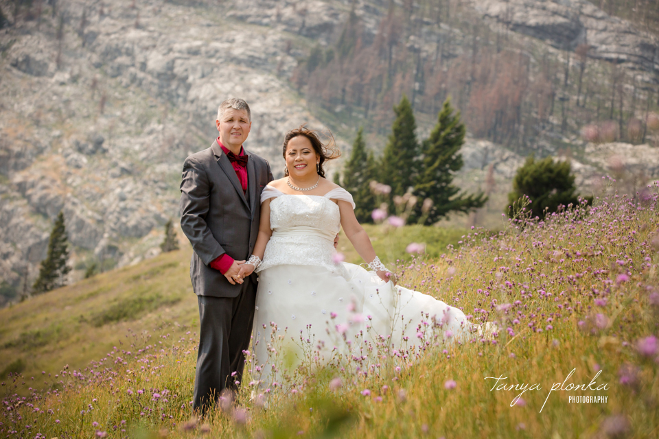 Waterton mid-week wedding portraits
