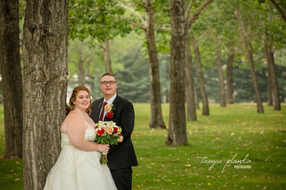 Katelyn and Brendan, Lethbridge wedding portraits