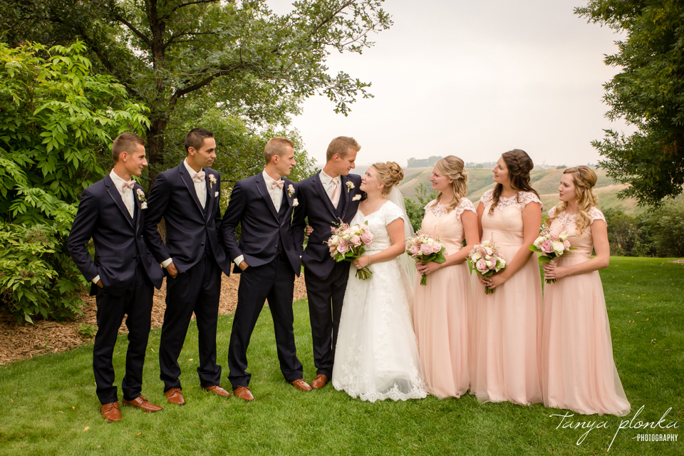 Makayla and Cornell, Picture Butte wedding photos