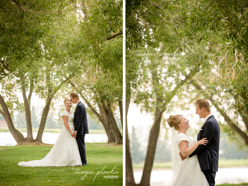 Makayla and Cornell, Picture Butte wedding photography