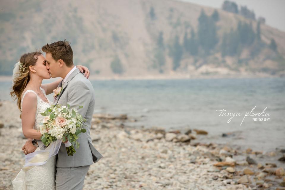 Julia and Kyle, Waterton wedding photography