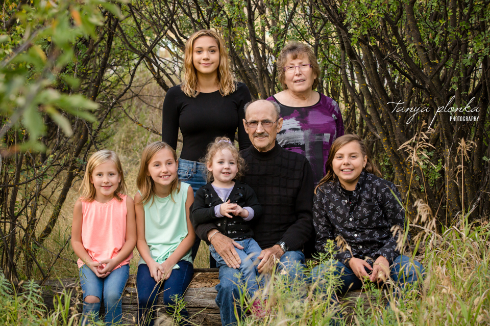 Lethbridge river bottom family photography