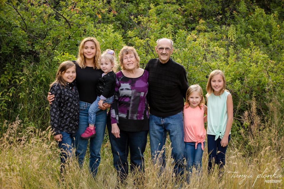 Lethbridge Indian Battle Park family photos