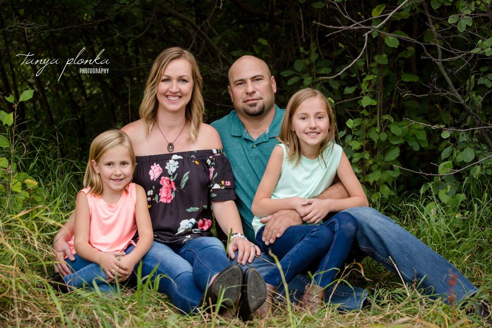 Lethbridge river bottom family photos
