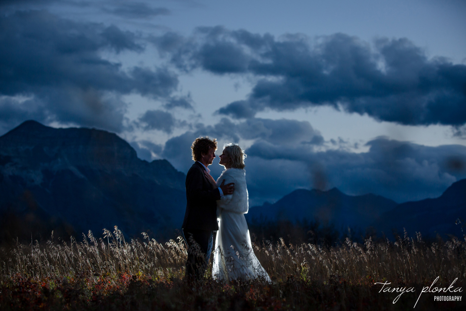 Ella and Mike, Waterton wedding photography