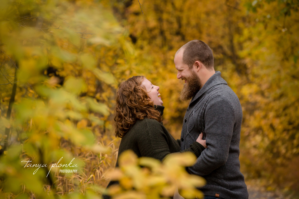 Indian Battle Park autumn engagement photos