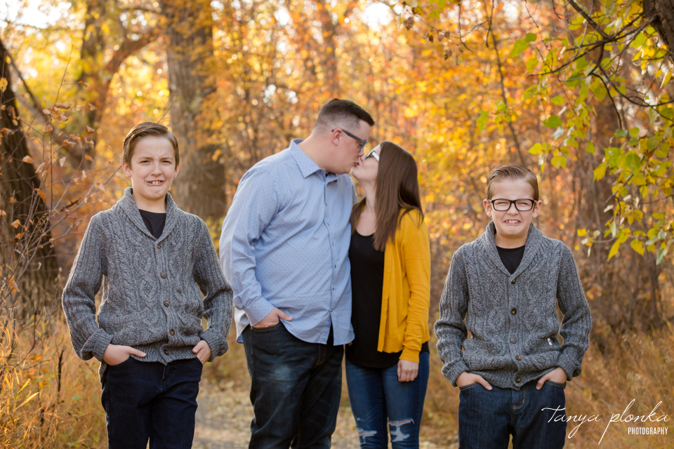 Lethbridge fall family photo session