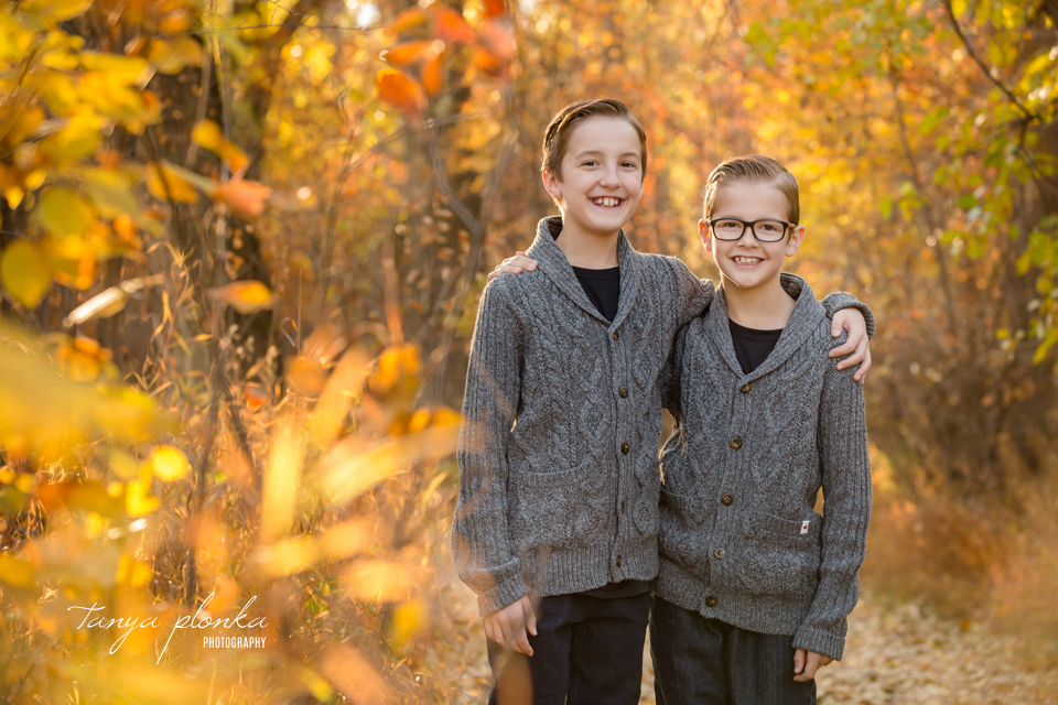 Indian Battle Park fall family photo session