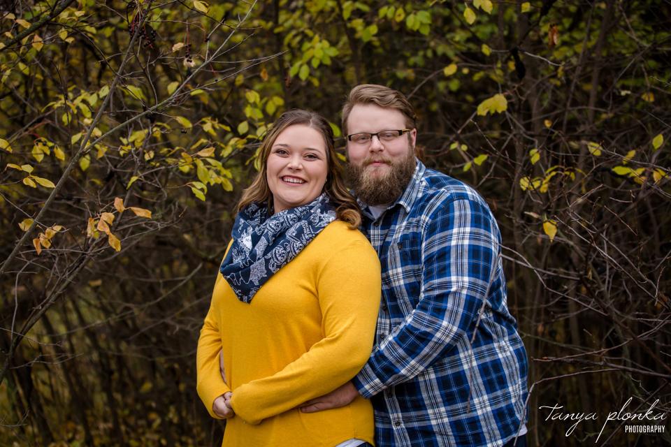 Lethbridge autumn engagement photos