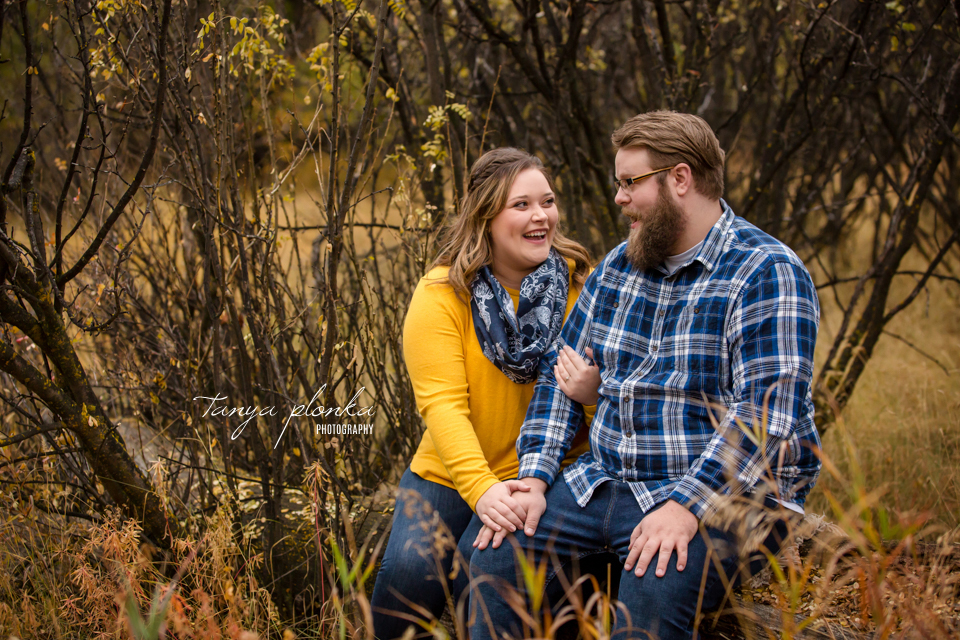Lethbridge fall engagement photos