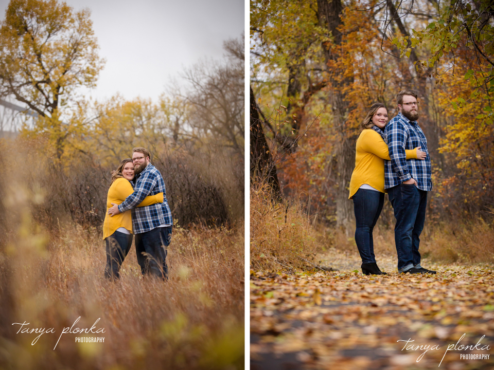Helen Schuler Nature Reserve autumn engagement photos