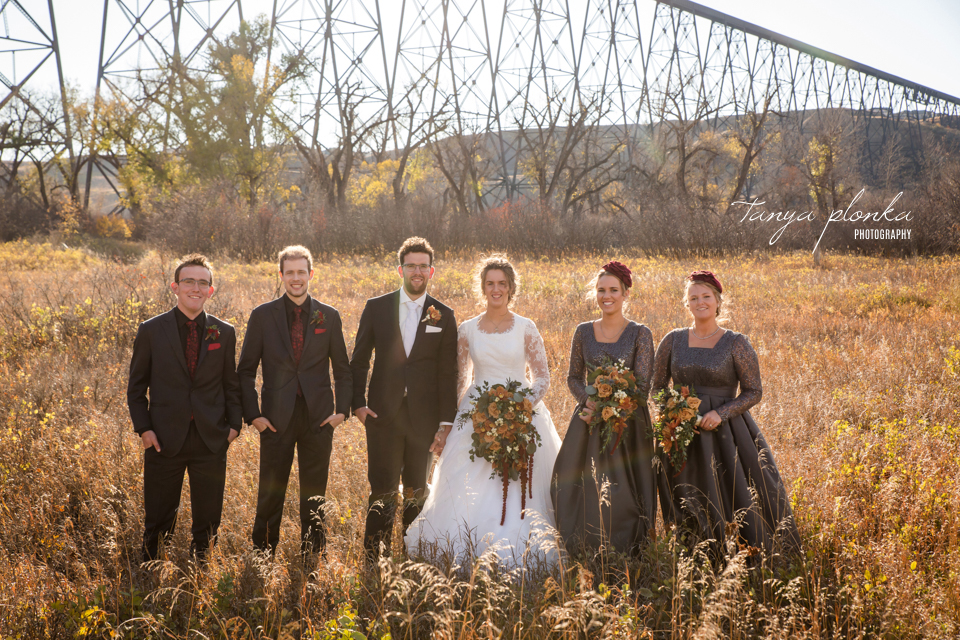 Stacie and Gerrit, Lethbridge Sandman Signature Hotel Autumn Wedding