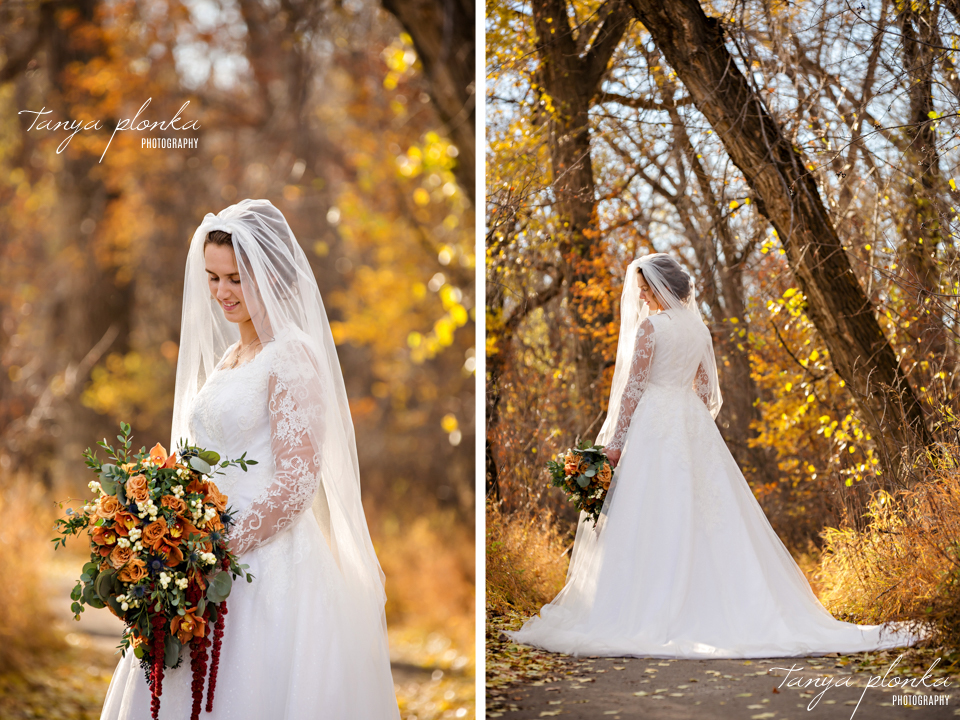 Stacie and Gerrit, Lethbridge Autumn Wedding Photography