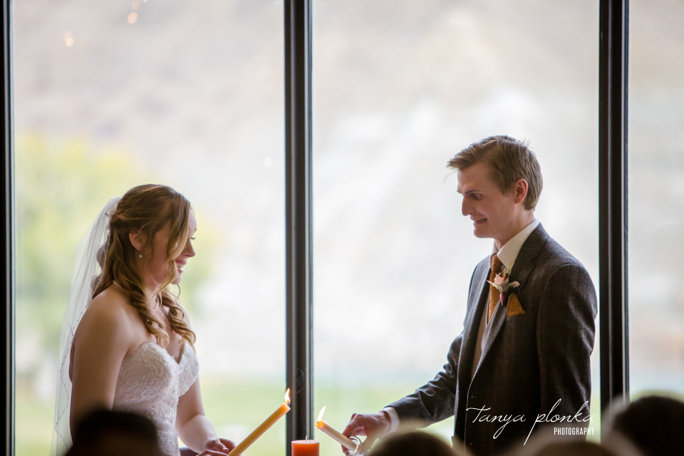 Cassie and Christian, Paradise Canyon Autumn Wedding Ceremony