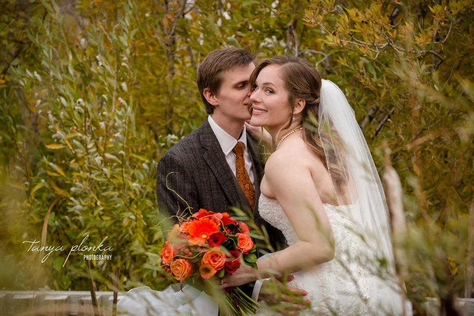 Cassie and Christian, Nicholas Sheran Autumn Wedding Photos