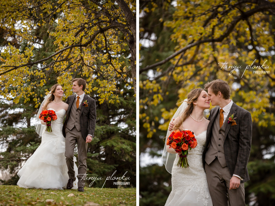 Cassie and Christian, Nicholas Sheran Autumn Wedding