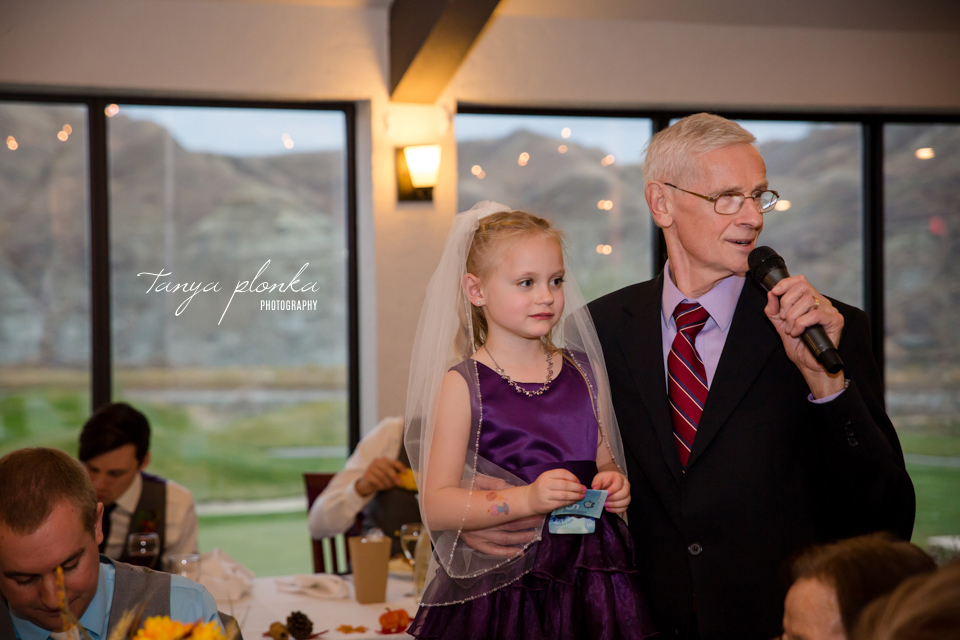 Cassie and Christian, Paradise Canyon Autumn Wedding Reception