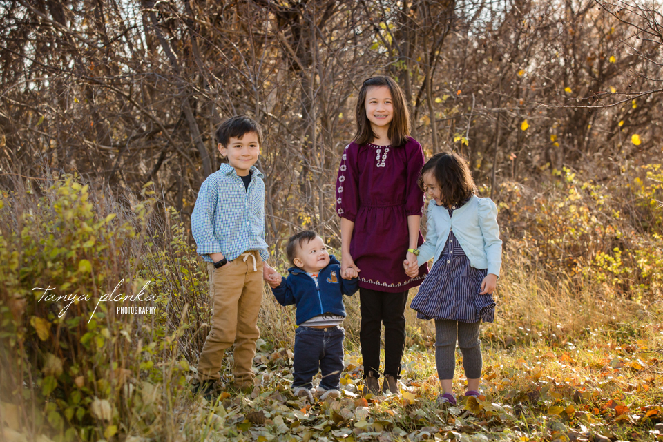 Pavan Park autumn morning family photos