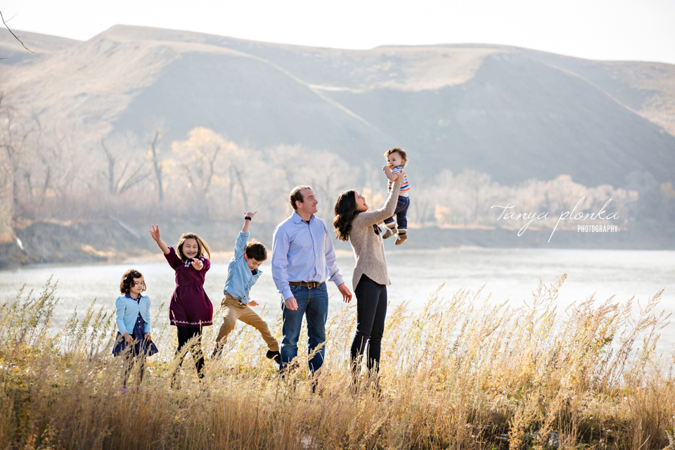 Pavan Park autumn morning family photography