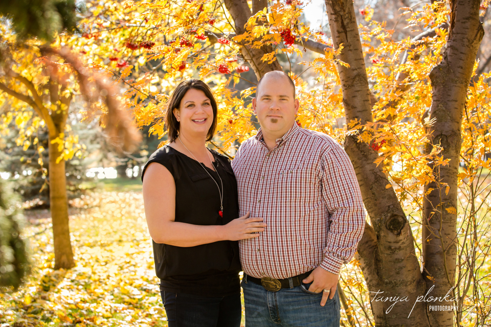Lethbridge extended family photo session in autumn