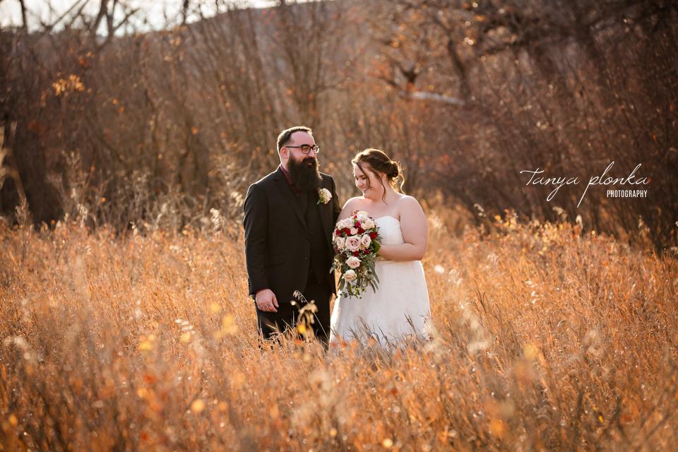 Kendi & Roy, Lethbridge Late Autumn Wedding Photos