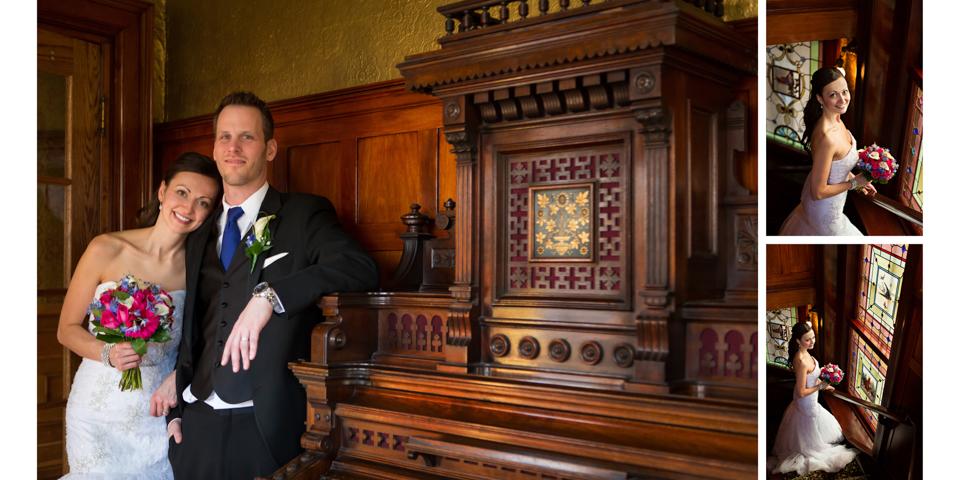 Edina & Eric, Calgary Lougheed House Wedding Album