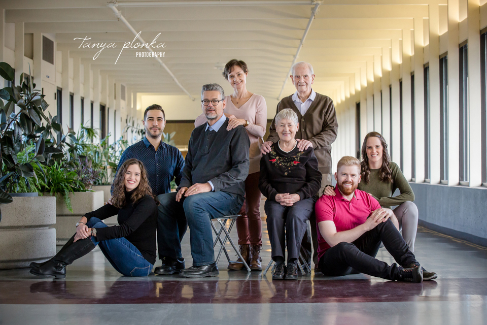 Lethbridge indoor winter family photos