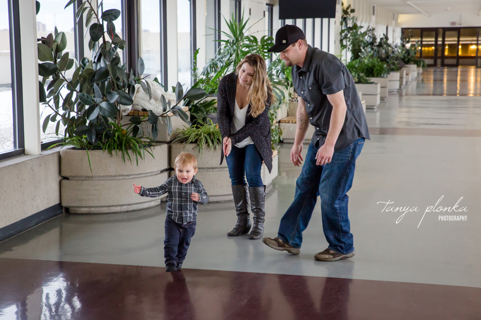 West Lethbridge winter family photography