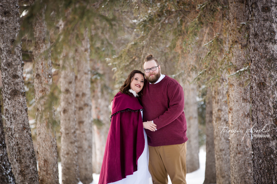 Jordanna & Deiter, Galt Museum Winter Wedding