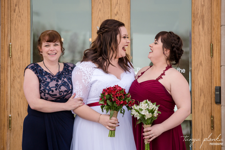 Jordanna & Deiter, Lethbridge Winter Wedding Photos