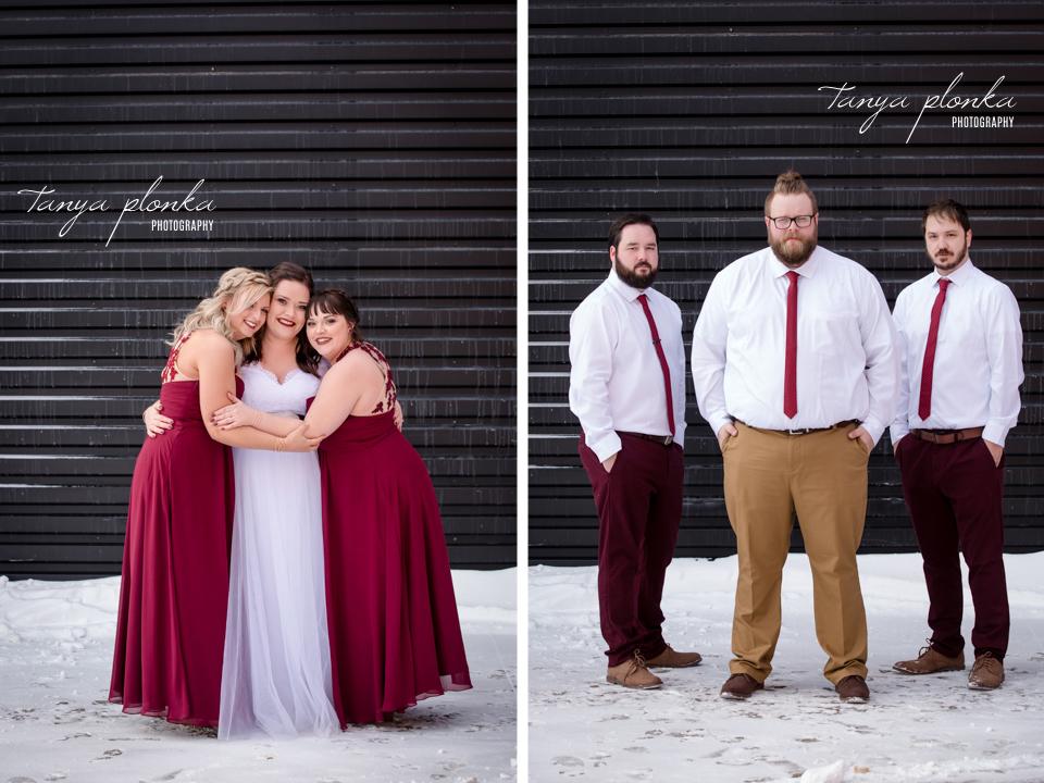 Jordanna & Deiter, Galt Museum Winter Wedding Photography