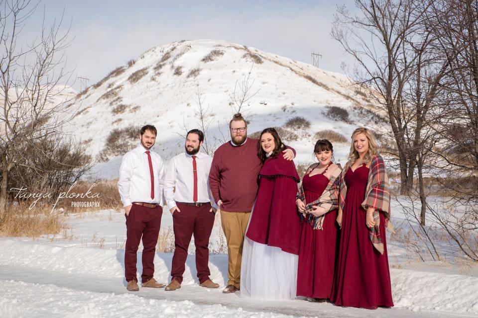Jordanna & Deiter, Lethbridge Winter Wedding Photography