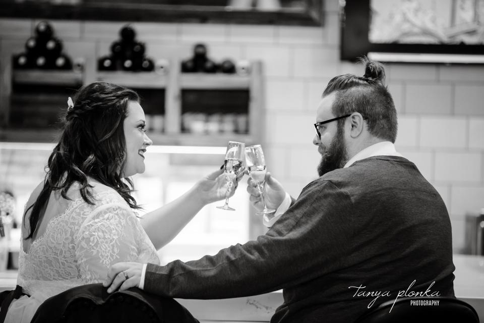 Jordanna & Deiter, Galt Museum Winter Wedding