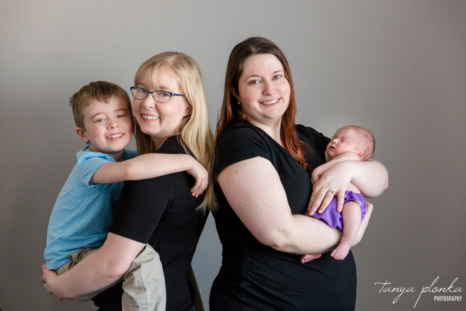 indoor Lethbridge newborn photos
