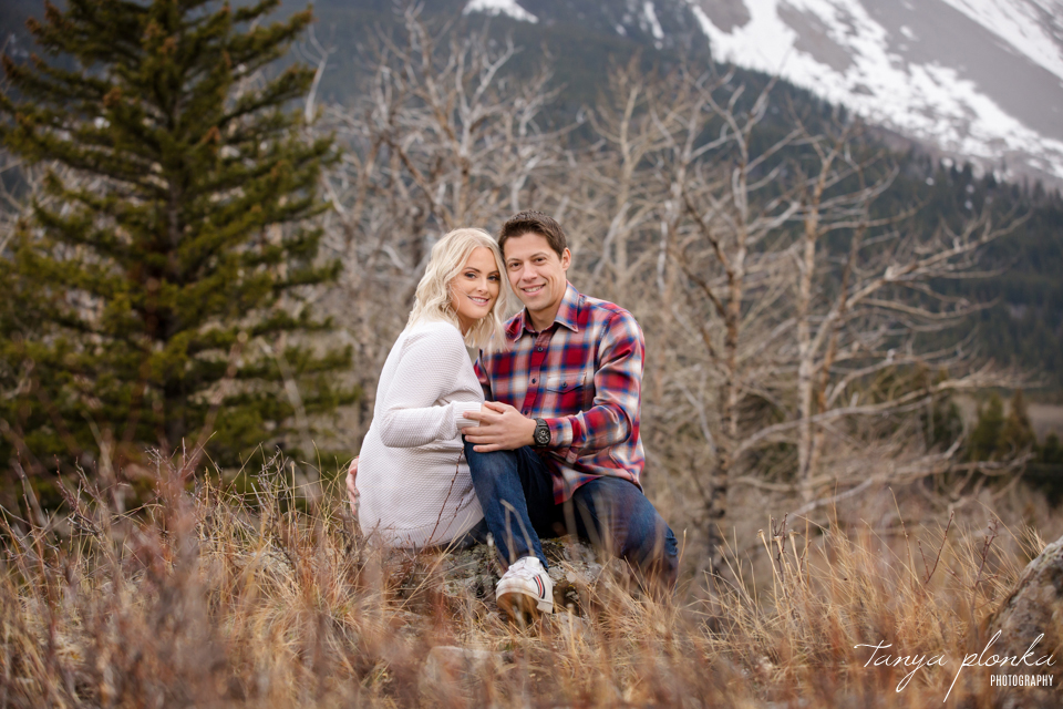 Hillcrest Mines engaged couple