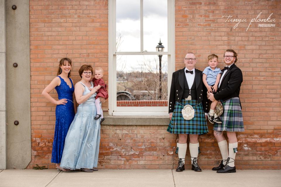 Lethbridge Scottish Highland Ball family photos
