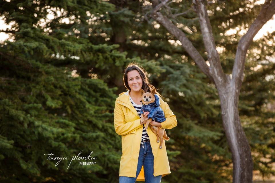 Lethbridge pet dog photo session