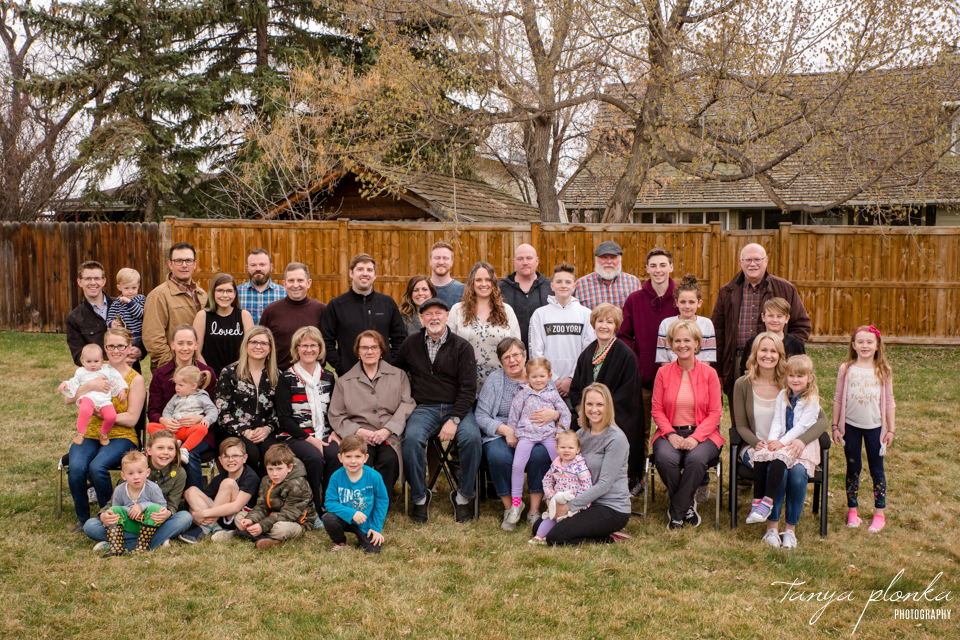Easter family reunion Lethbridge