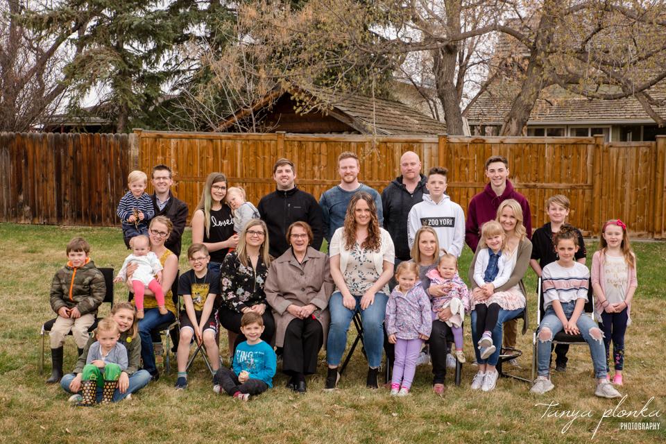 Easter family reunion Lethbridge