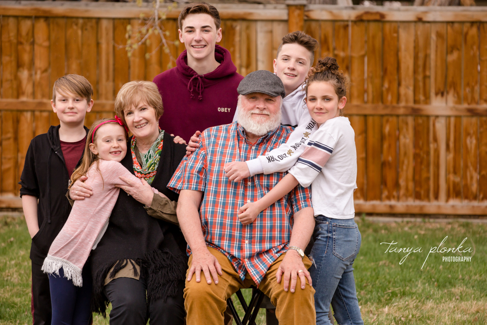 Lethbridge family reunion photography