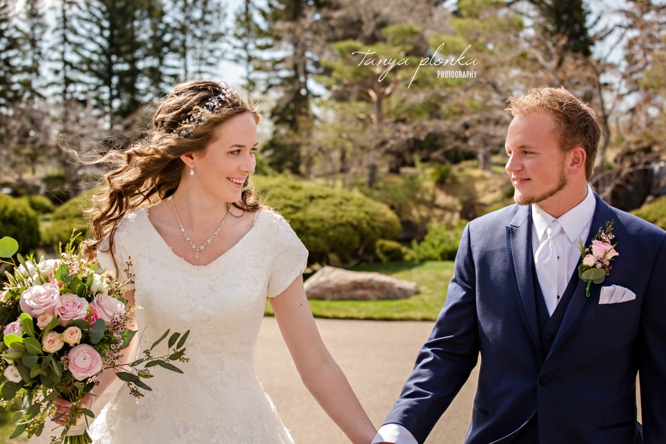 Brittany and Brent, Nikka Yuko Japanese Garden morning wedding photos