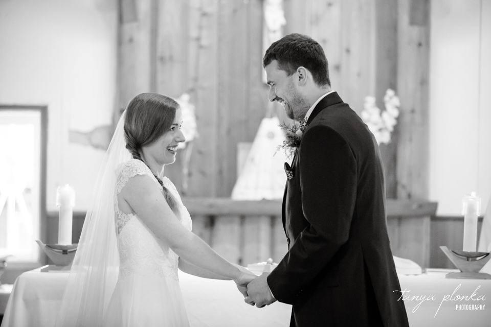 Isabelle and Andrew, Waterton Catholic wedding ceremony